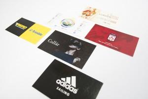 Vizītkartes digitālajā drukā