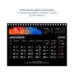 Individuāls galda kalendārs