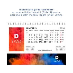 Personalizēts galda kalendārs