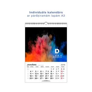 A3 sienas kalendārs