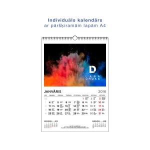 A4 sienas kalendārs